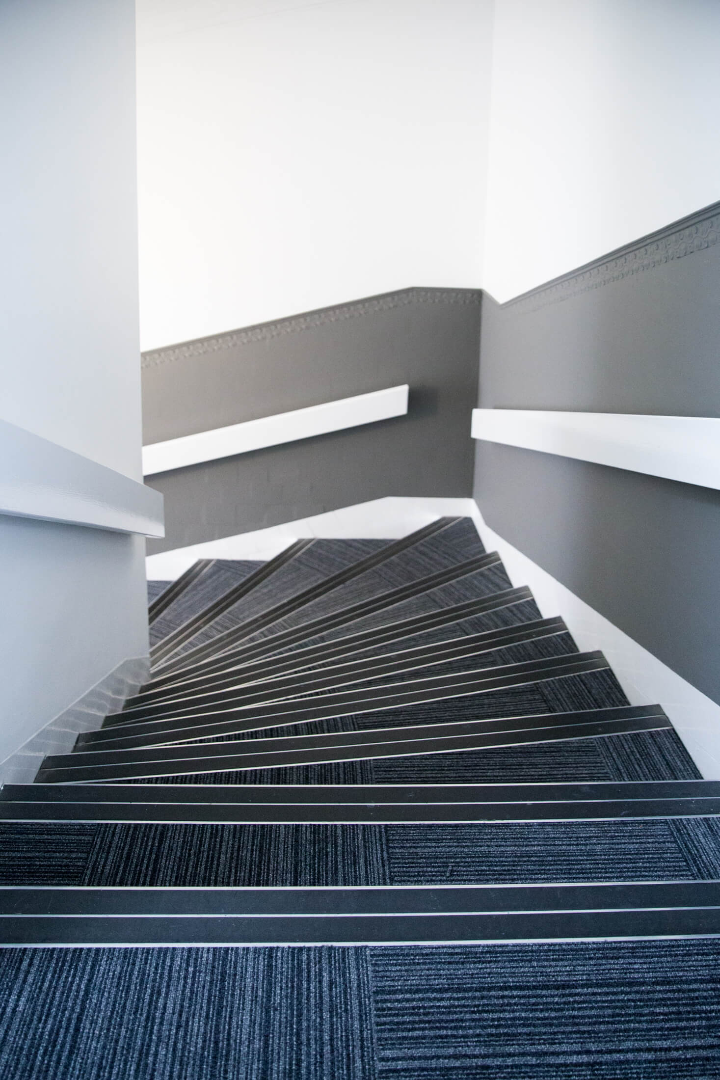 New stairs in a large office in Glasgow