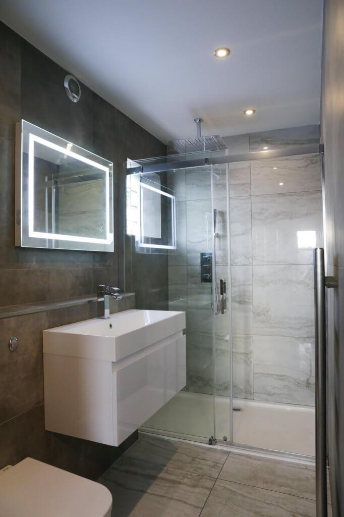 Bathroom after full renovation - FIX LTD