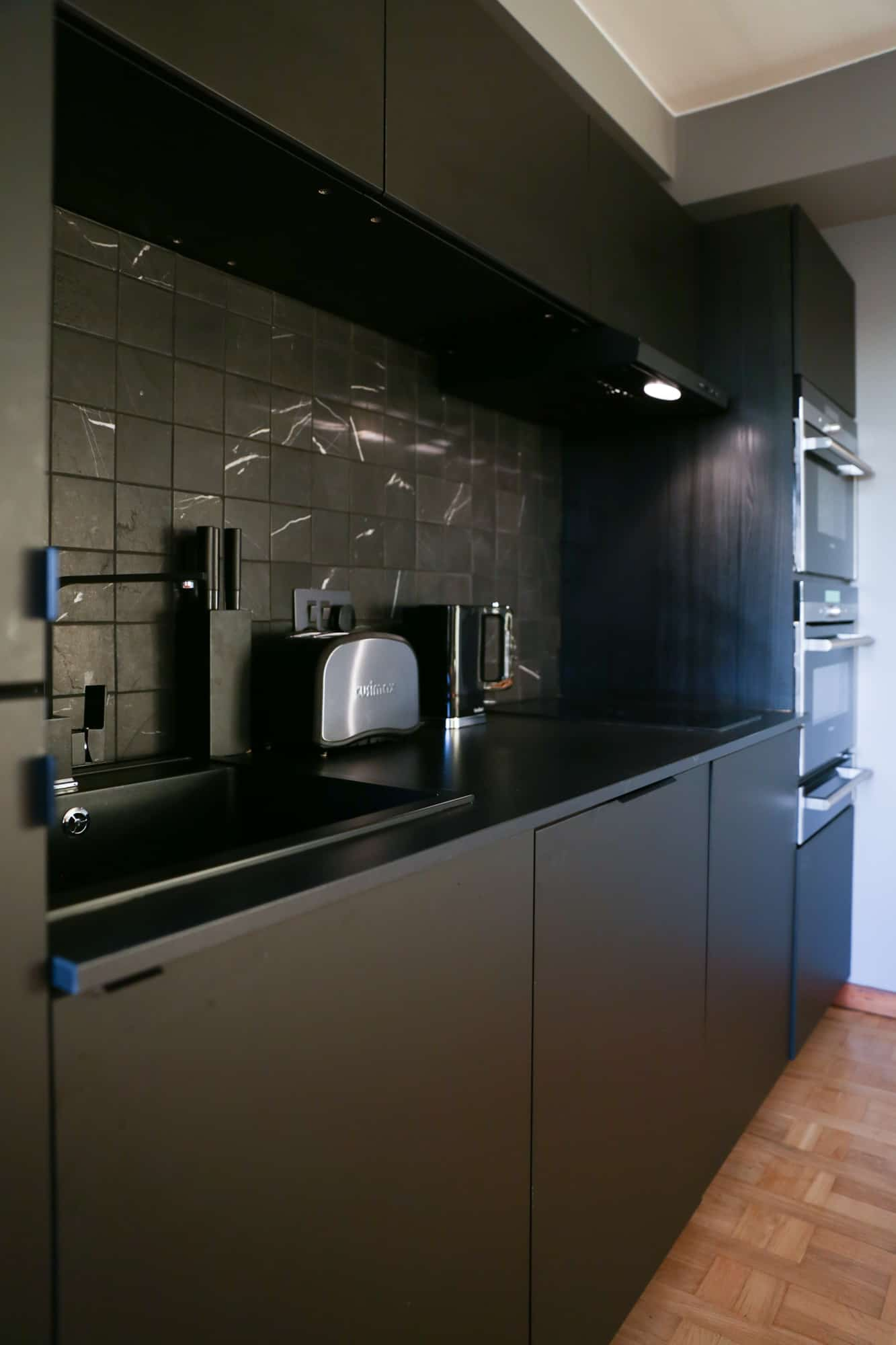 kitchen after refurbishment performed by best kitchen fitters in Glasgow