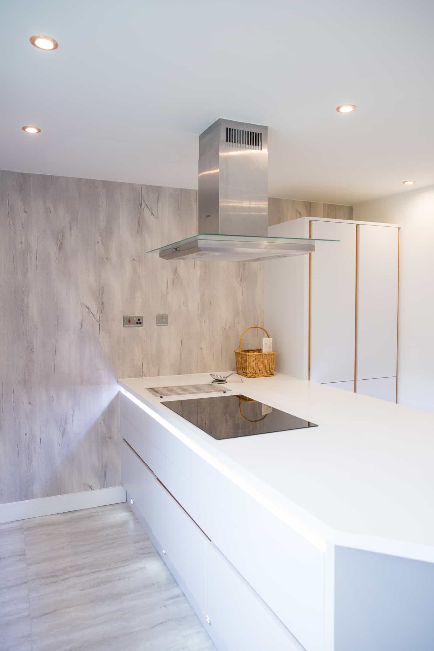 A renovated kitchen made by renovation services contractor FIX LTD