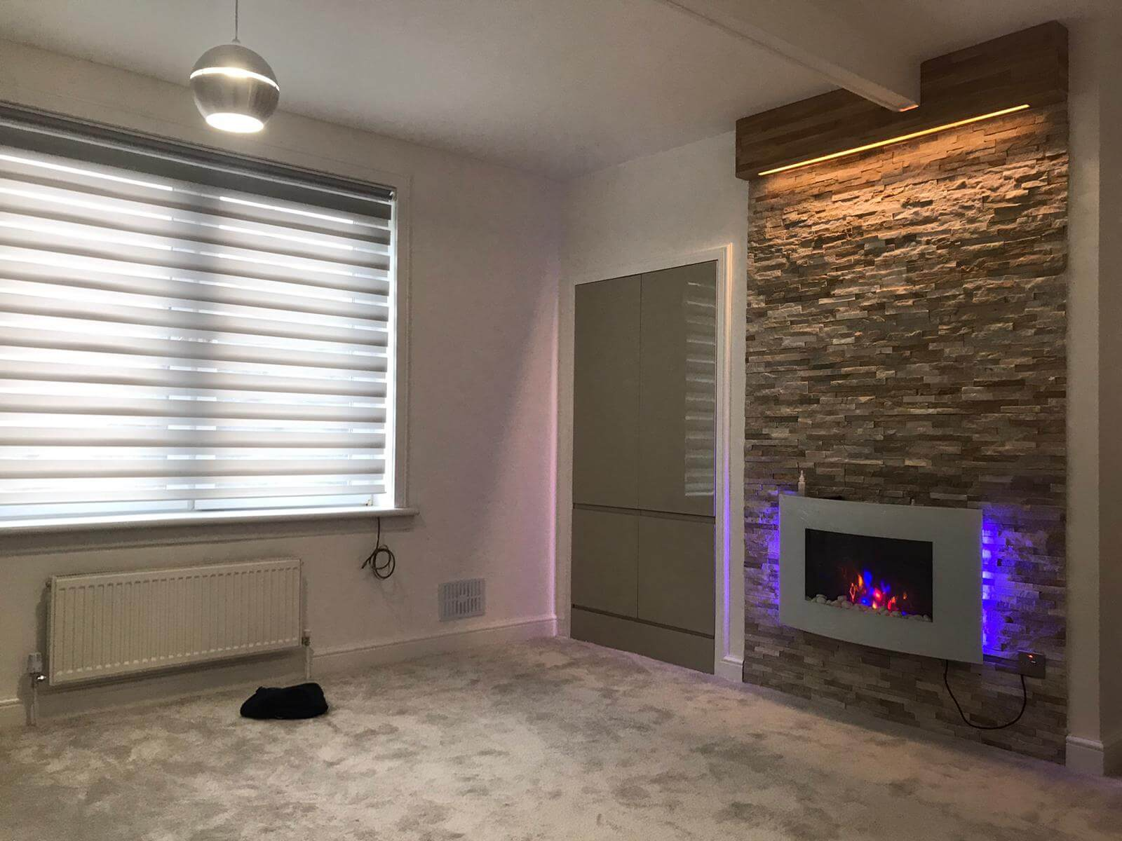 home renovation and fireplace glasgow