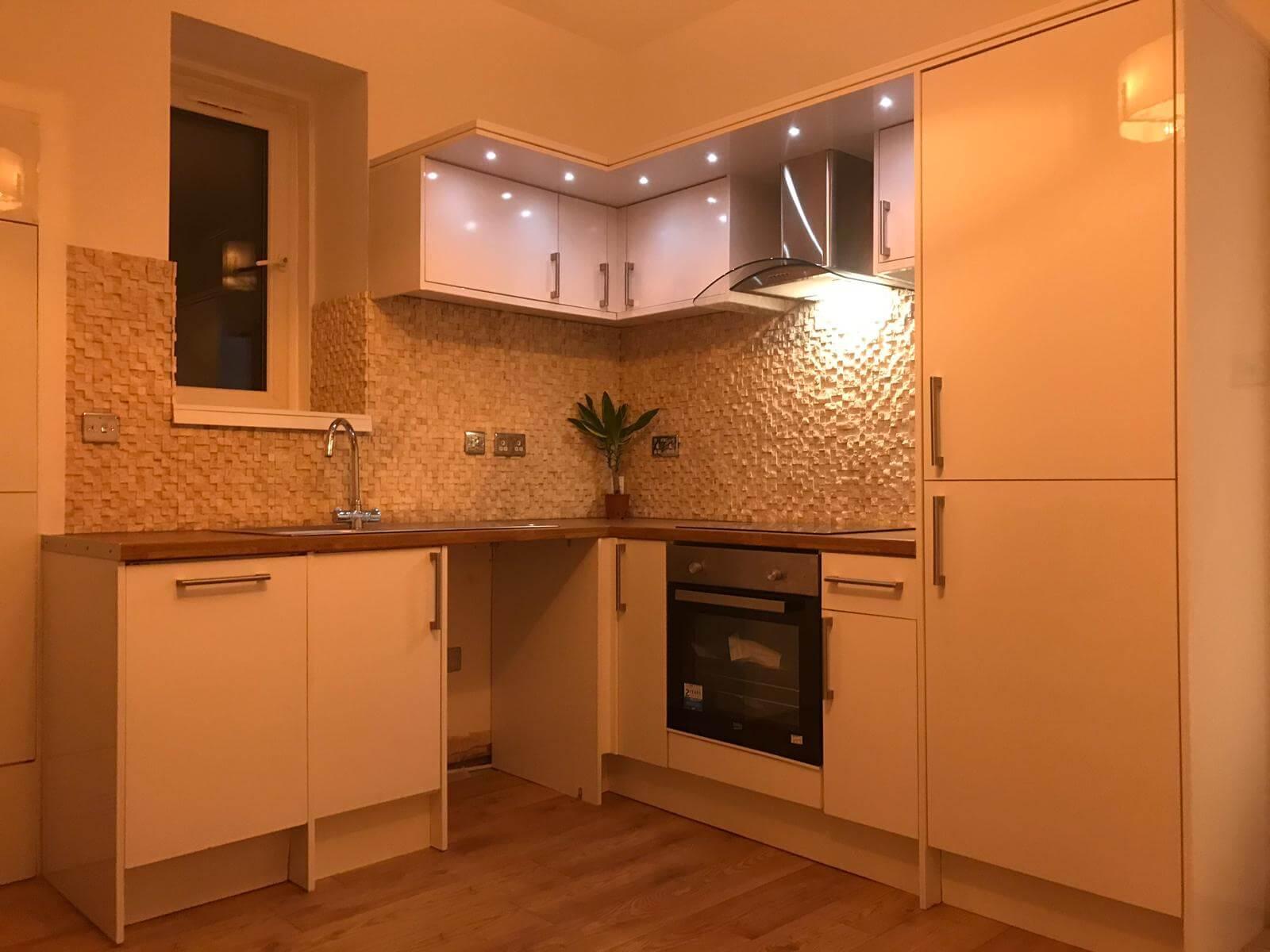 kitchen renovation by company FIX LTD from Glasgow