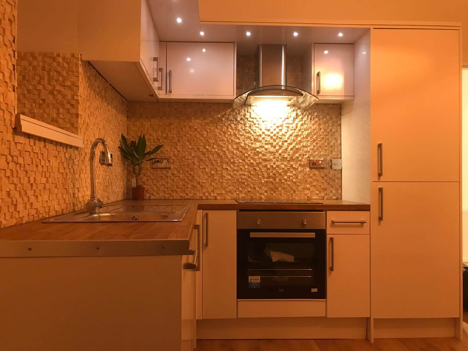 fully renovated kitchen in glasgow