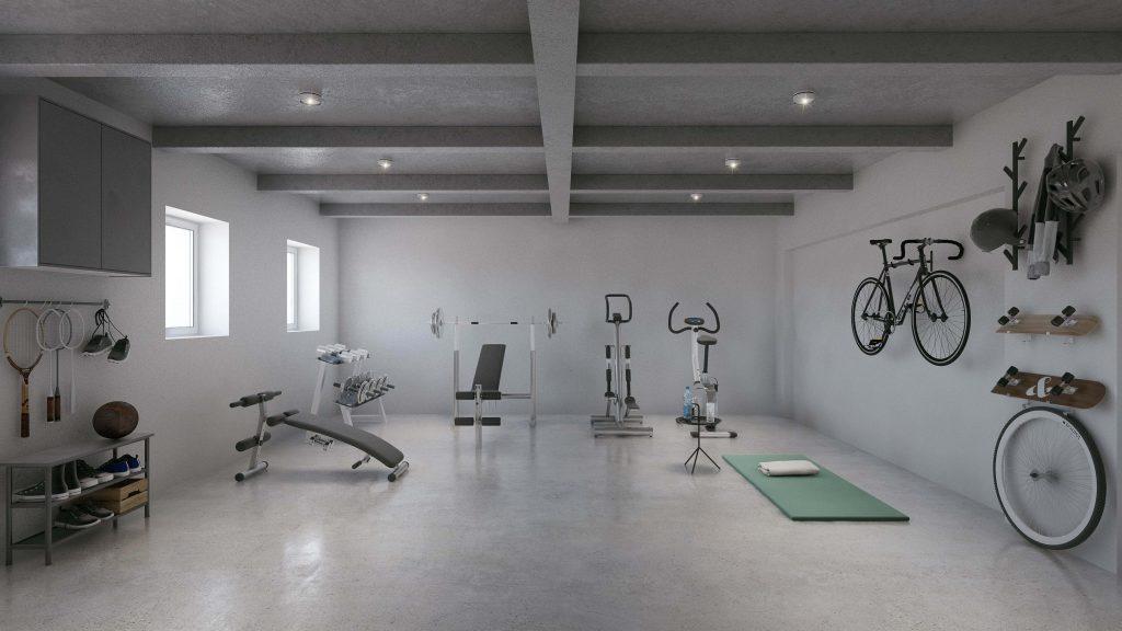 Basement conversion into a sport gym, Edinburgh