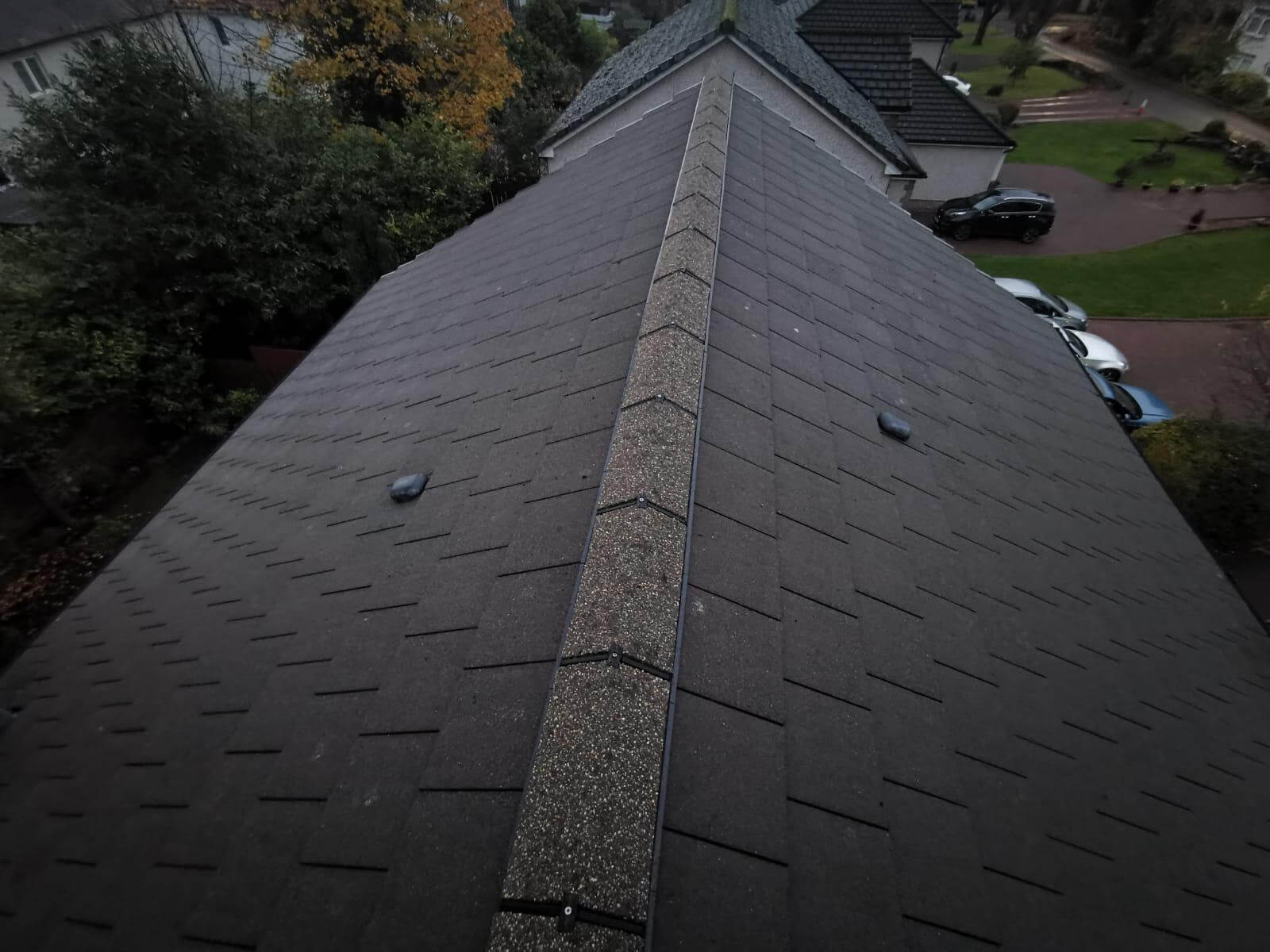 Roof after roofing services Glasgow FIX LTD